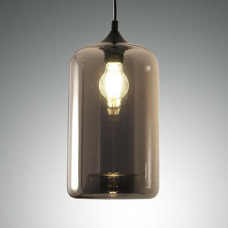 Hanglamp Silo van glas