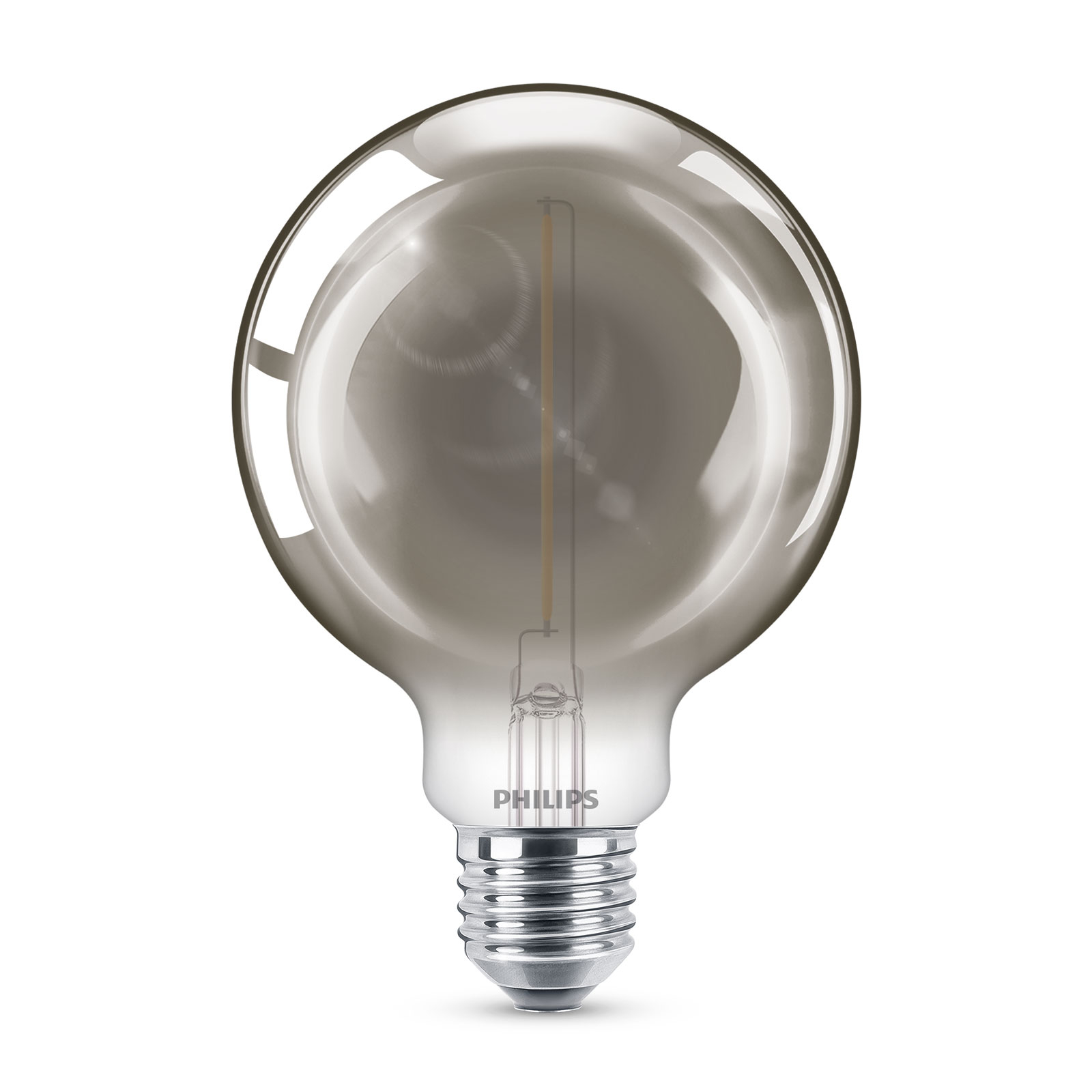 Philips Classic LED bollamp smoky E27 G93 2W