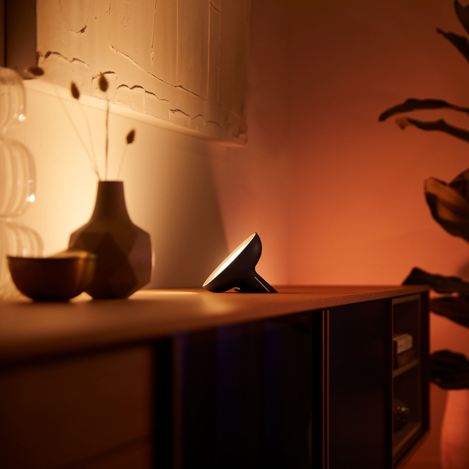 Philips Hue Bloom tafellamp zwart white & Color