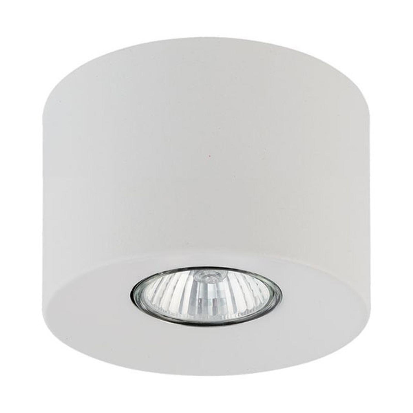 Downlight Orion rund, weiß, 8,5 cm