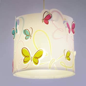 Frühlingshafte Hängeleuchte Butterfly
