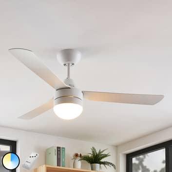Arcchio Andi ventilador de techo iluminado, E14