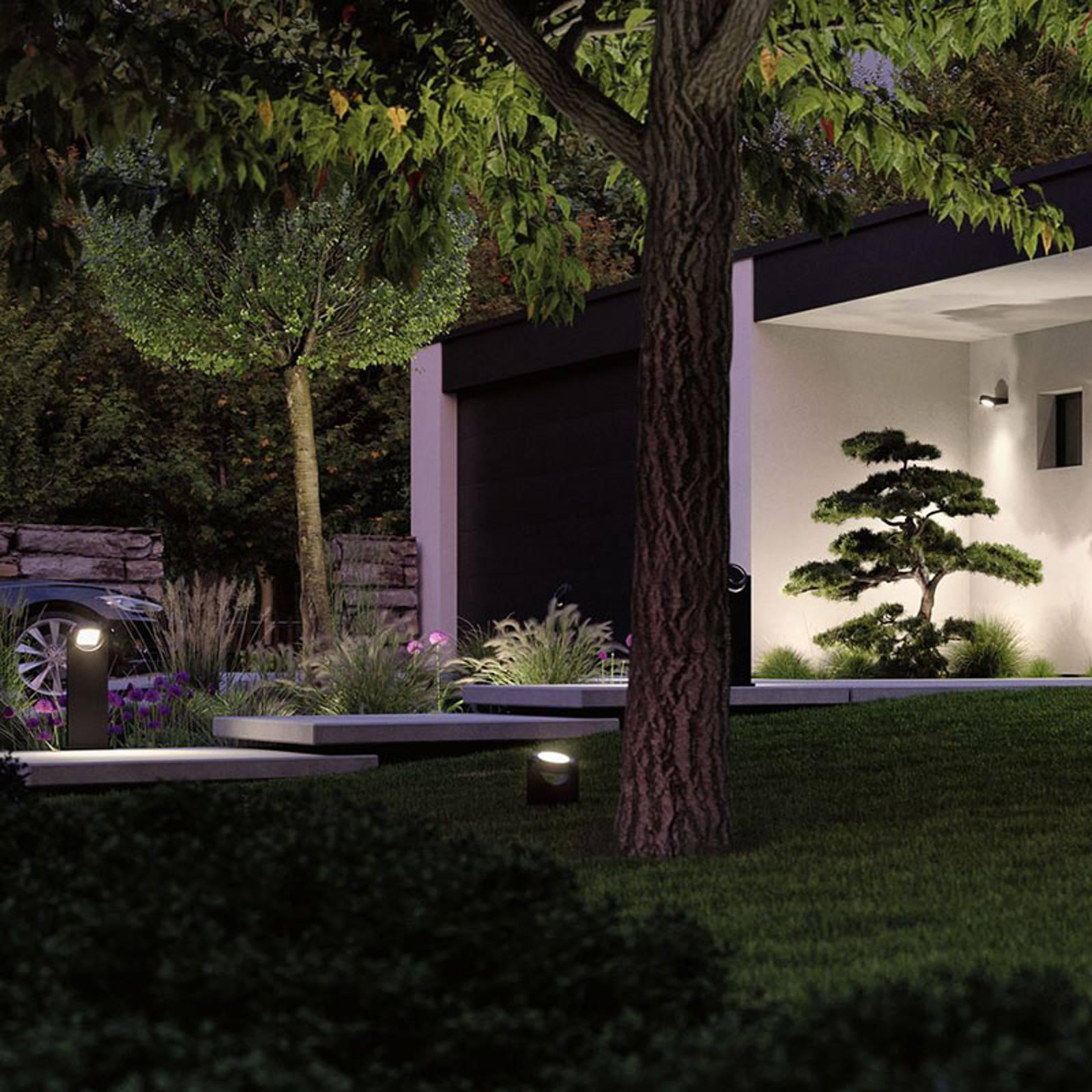 Paulmann Swivea LED-Pollerleuchte, kardanisch