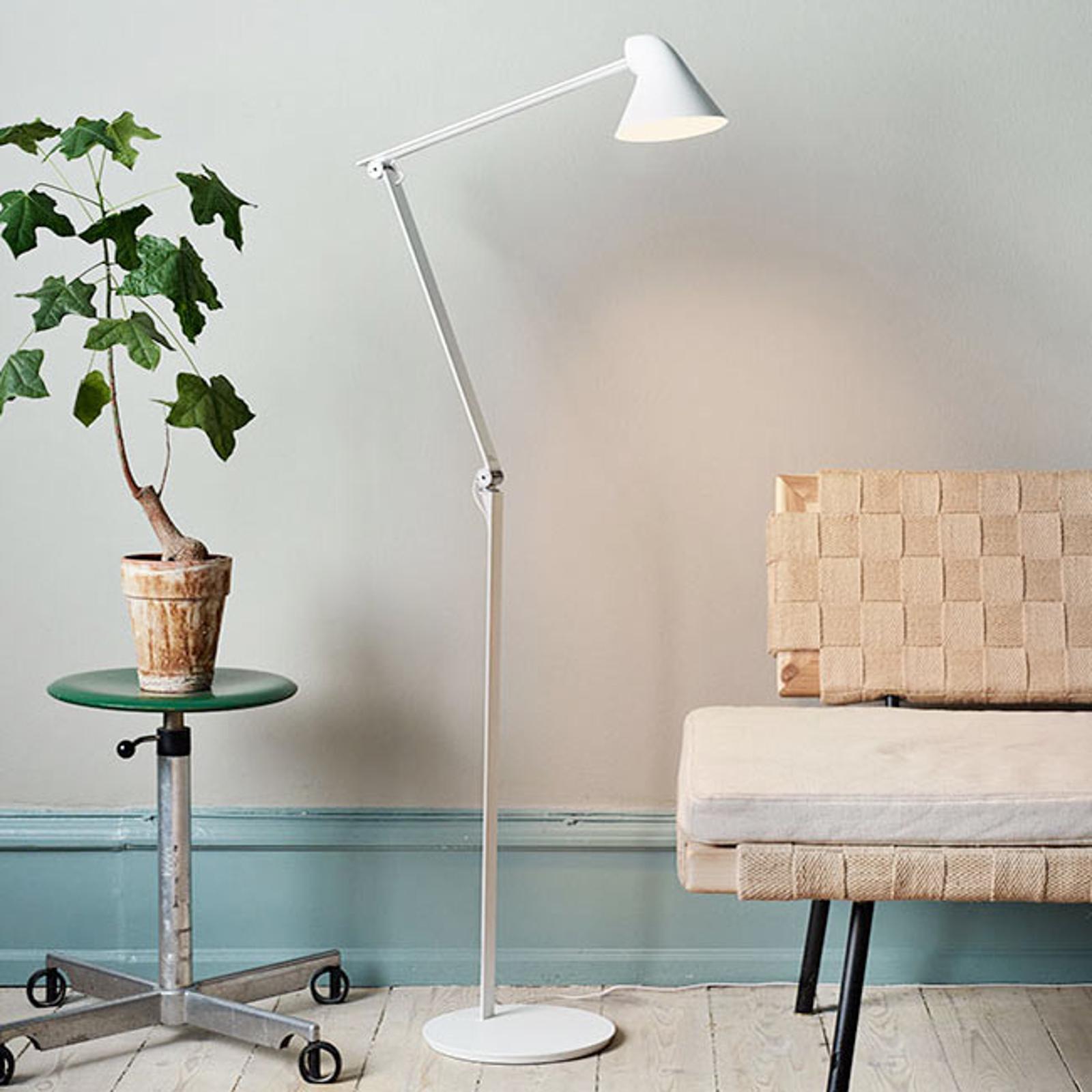 Louis Poulsen NJP - lampadaire LED blanc