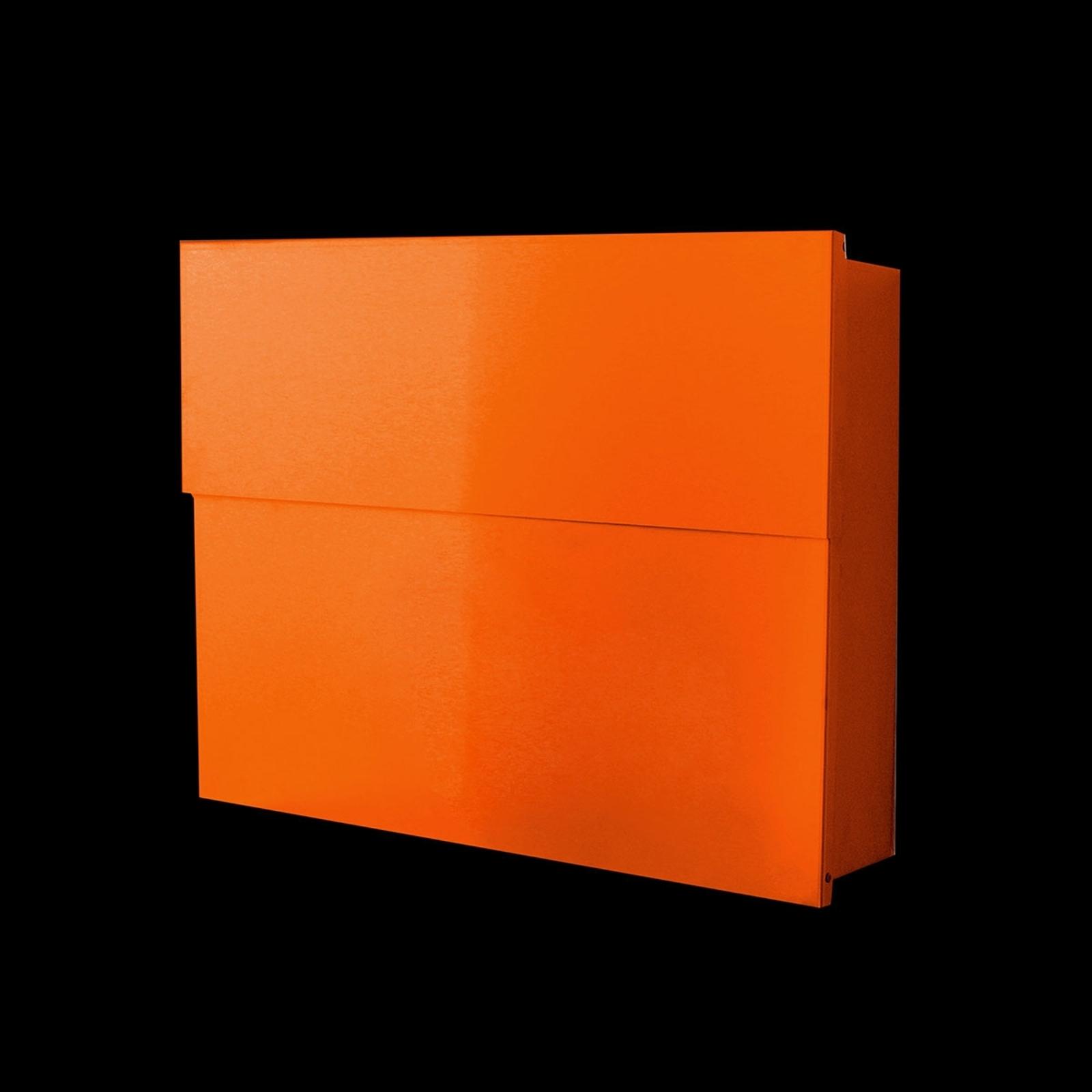 Fin postkasse Letterman XXL II, oransje