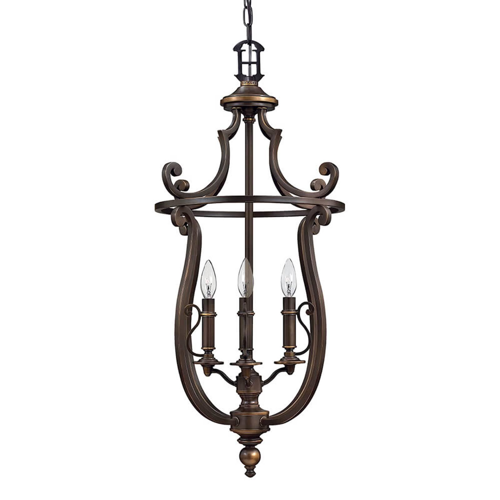 Rustykalna lampa wisząca Plymouth