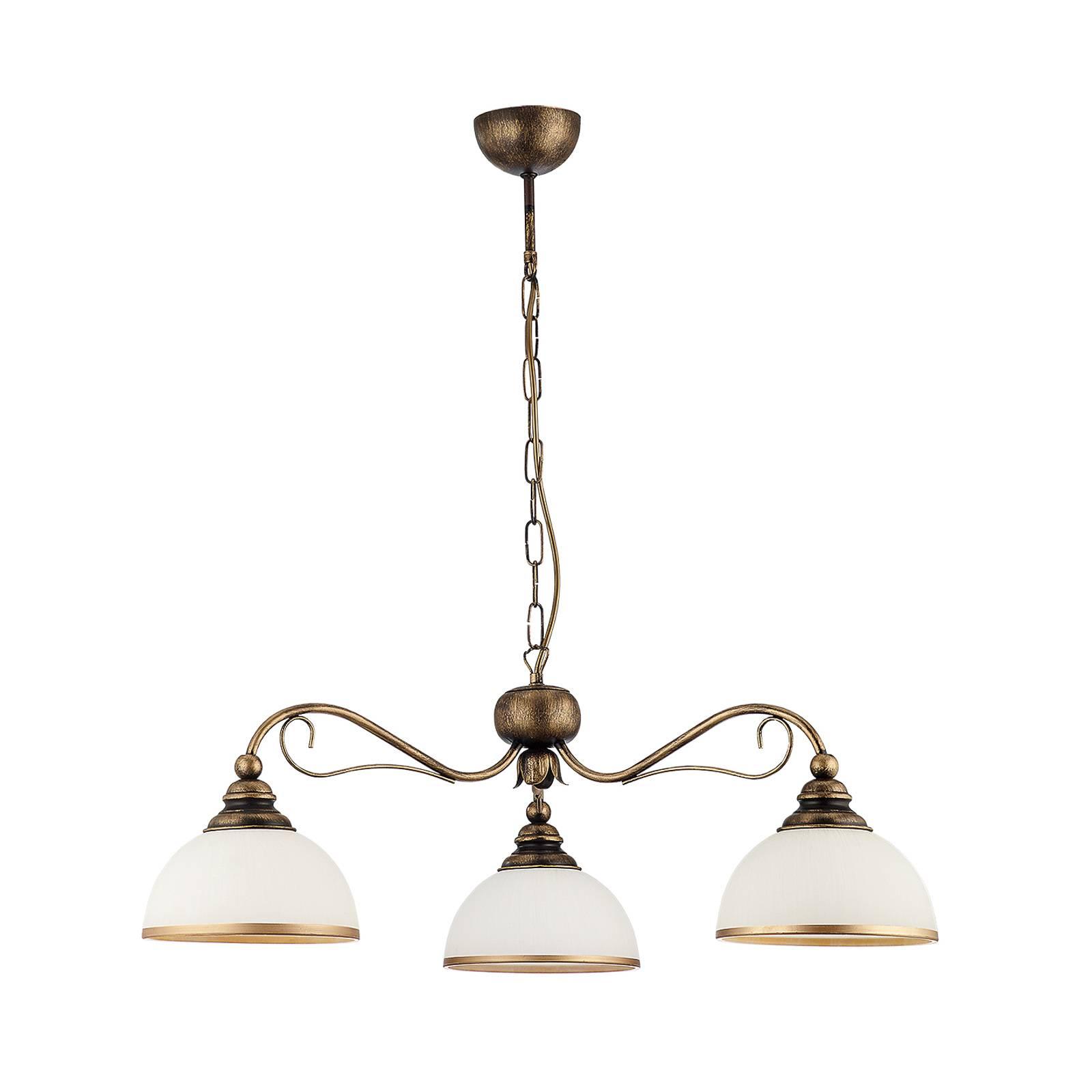 Suspension Casale à 3 lampes, Ø 74cm