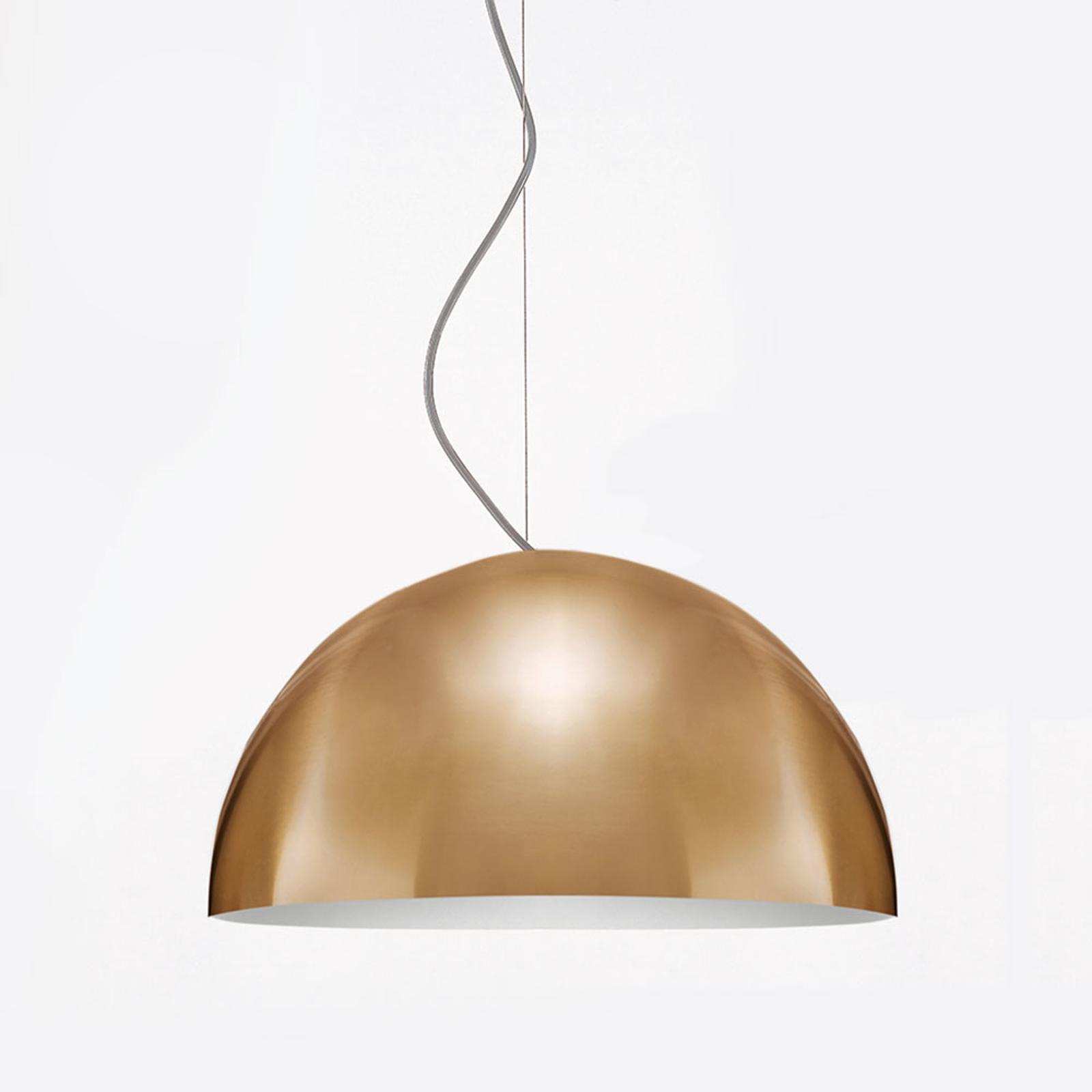 Lampada a sospensione Sonora, oro, 38 cm