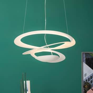 LED-designer-pendellampa Pirce Micro i vitt