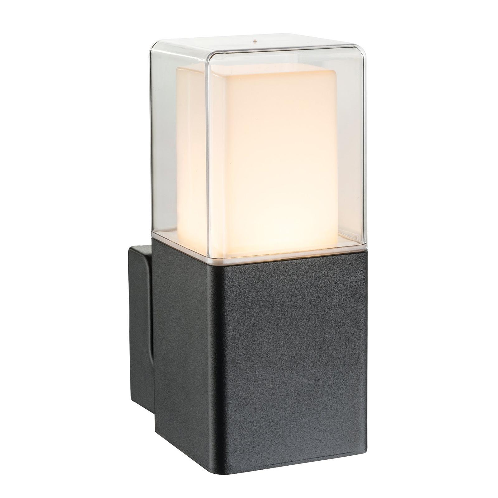 LED buitenwandlamp Dalia met glazen diffusor