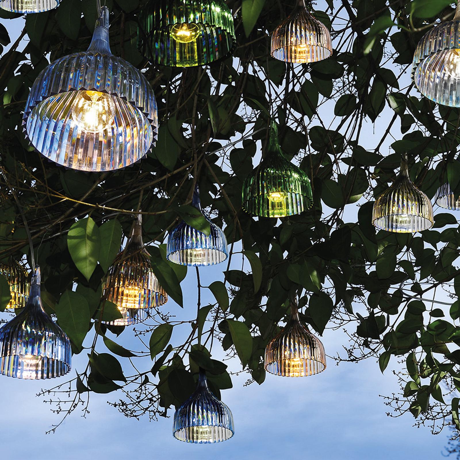 Kartell É suspension LED, transparent