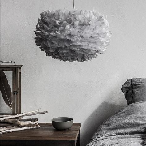 Závěsné světlo UMAGE Eos medium, světle šedé