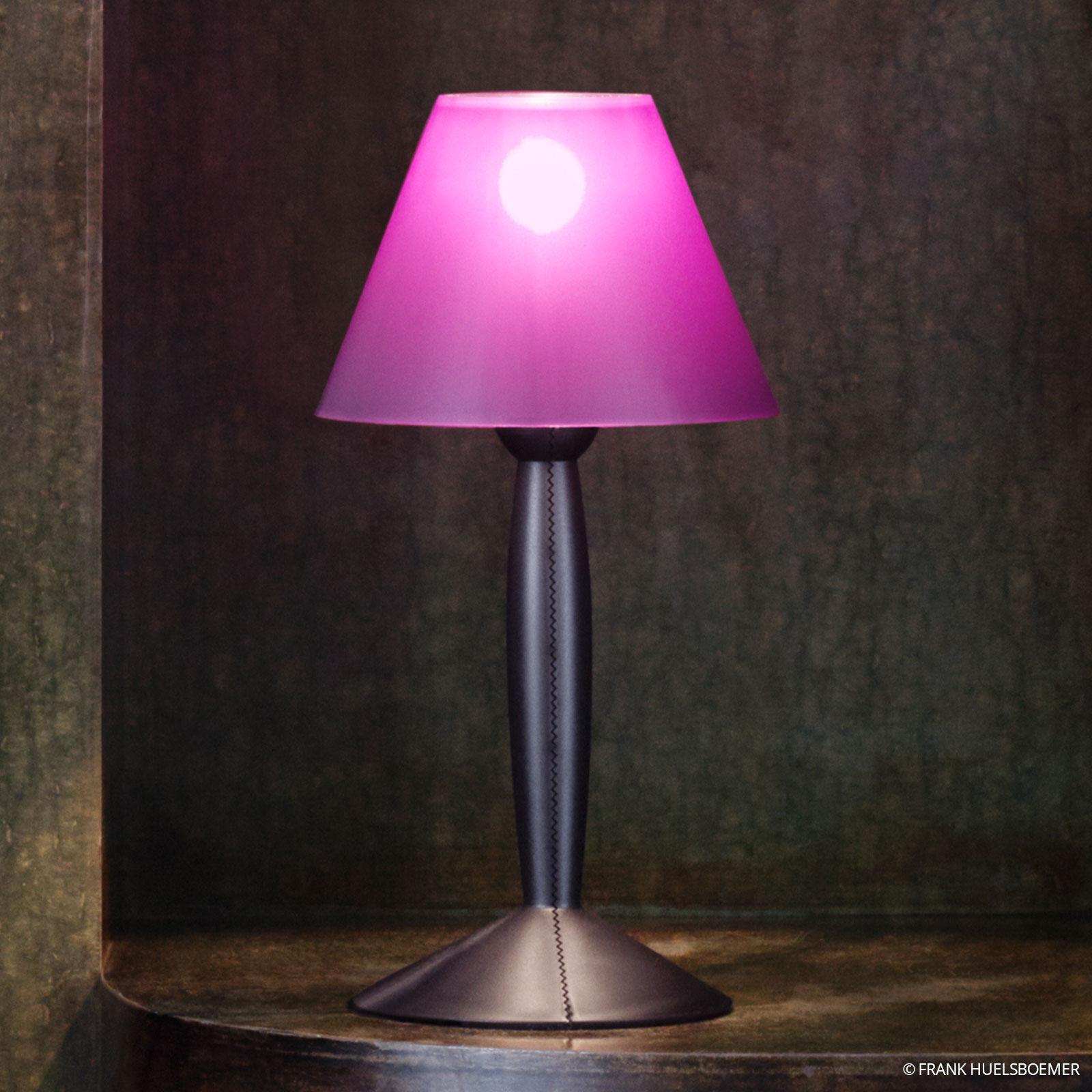 FLOS Miss Sissi - pozitivní stolní lampa, fialová