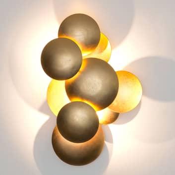 LED nástěnné světlo Bolladaria, tři zdroje