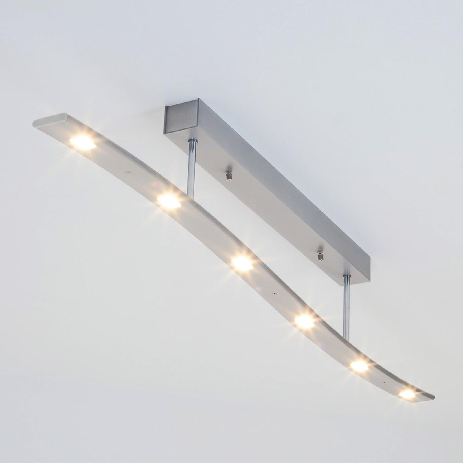 LED-Deckenleuchte Xalu in Wellenform