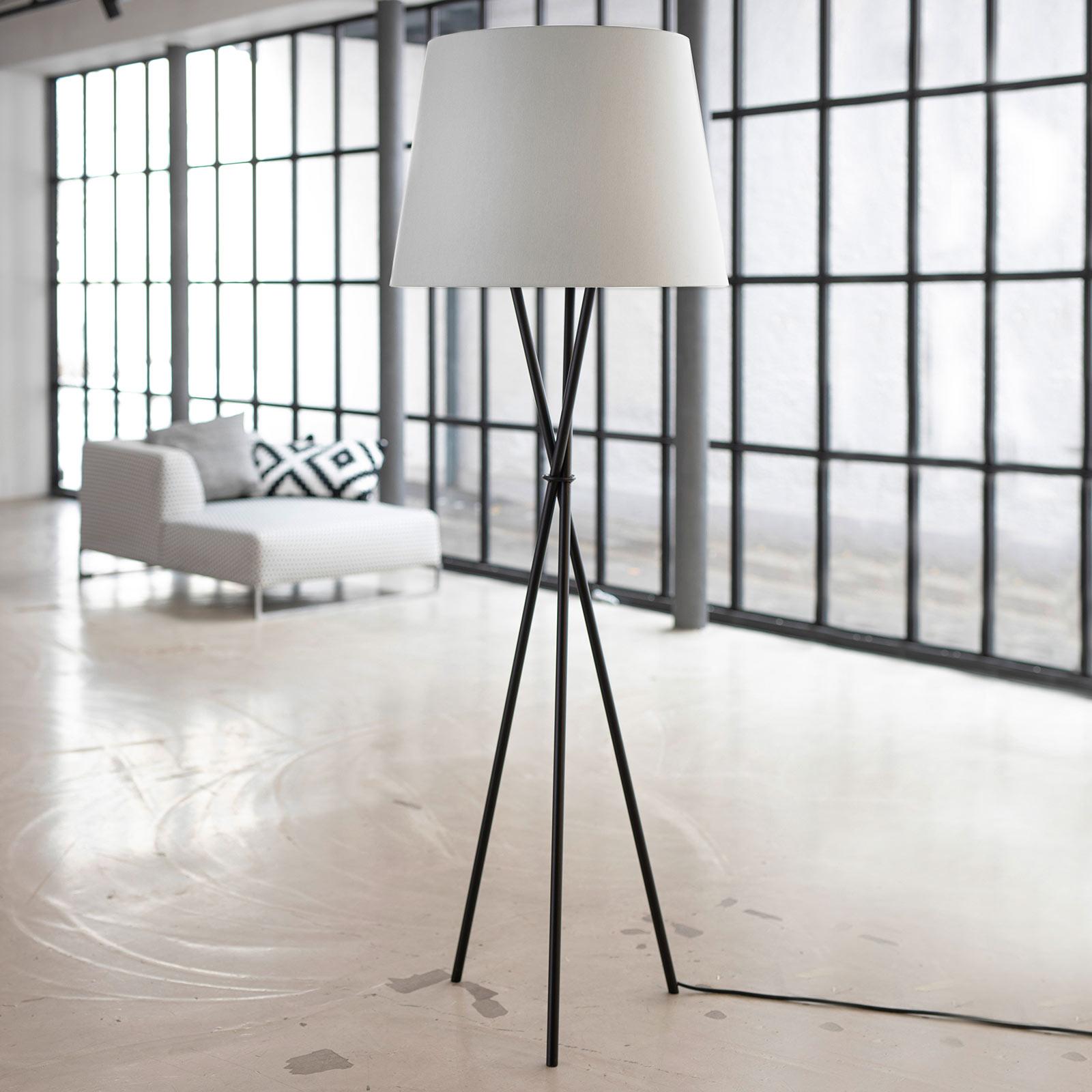 Ozonos Hailey lampa stojąca LED kremowa z AC-1