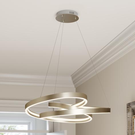 Lucande Gunbritt -LED-riippuvalaisin, 80 cm
