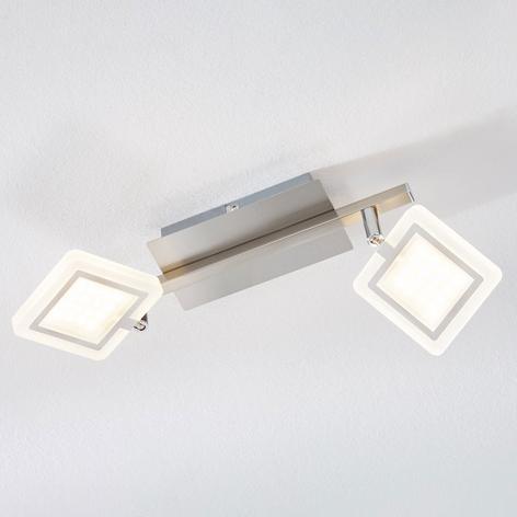 LED-kattokohdevalo Evelina, 2-lamppuinen