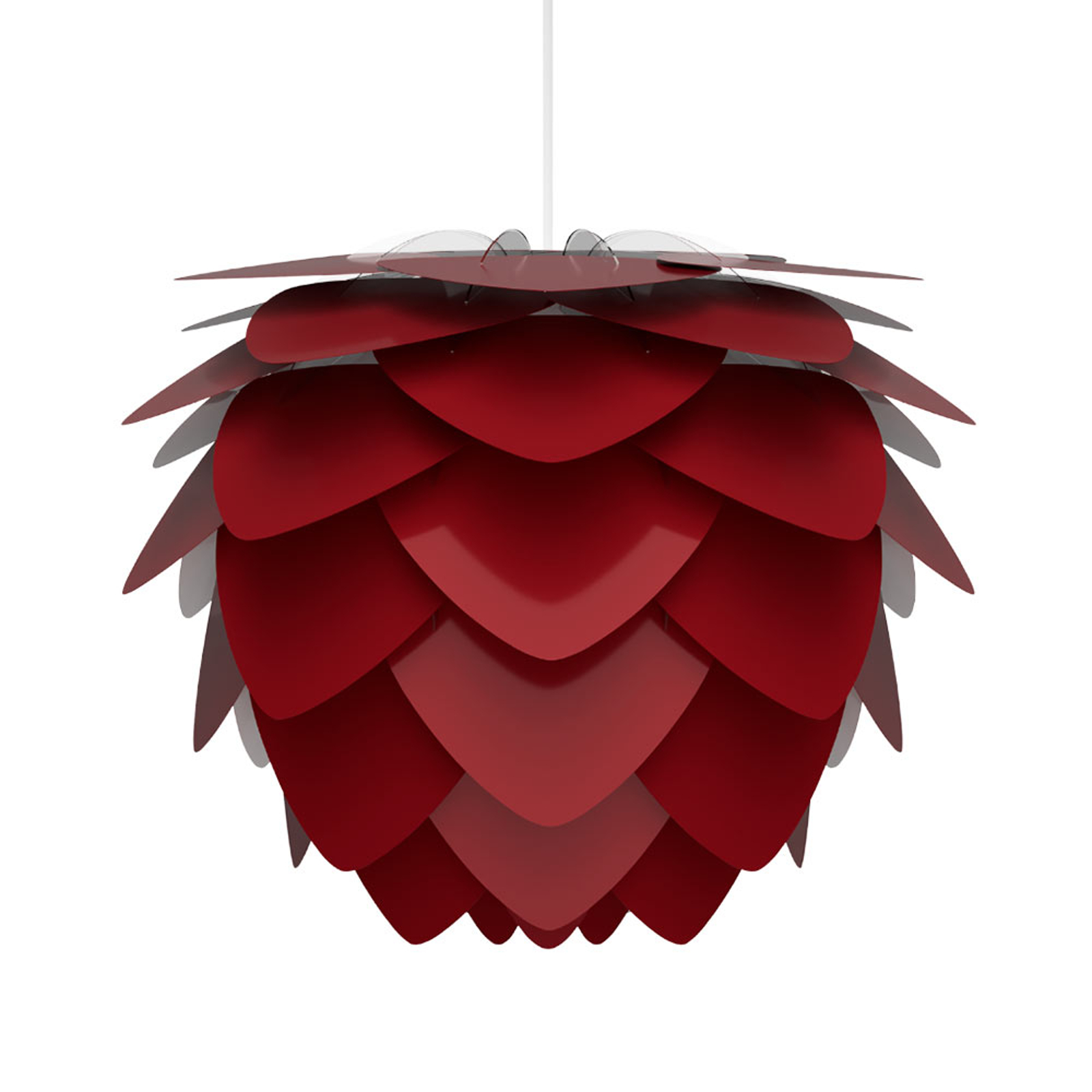 UMAGE Aluvia mini pendellampe rubinrød