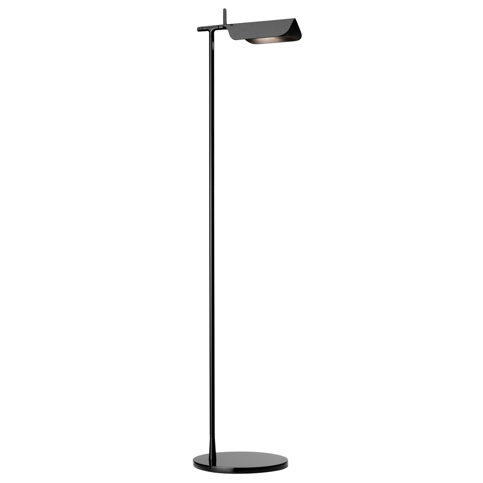FLOS Tab LED-Stehleuchte, schwarz