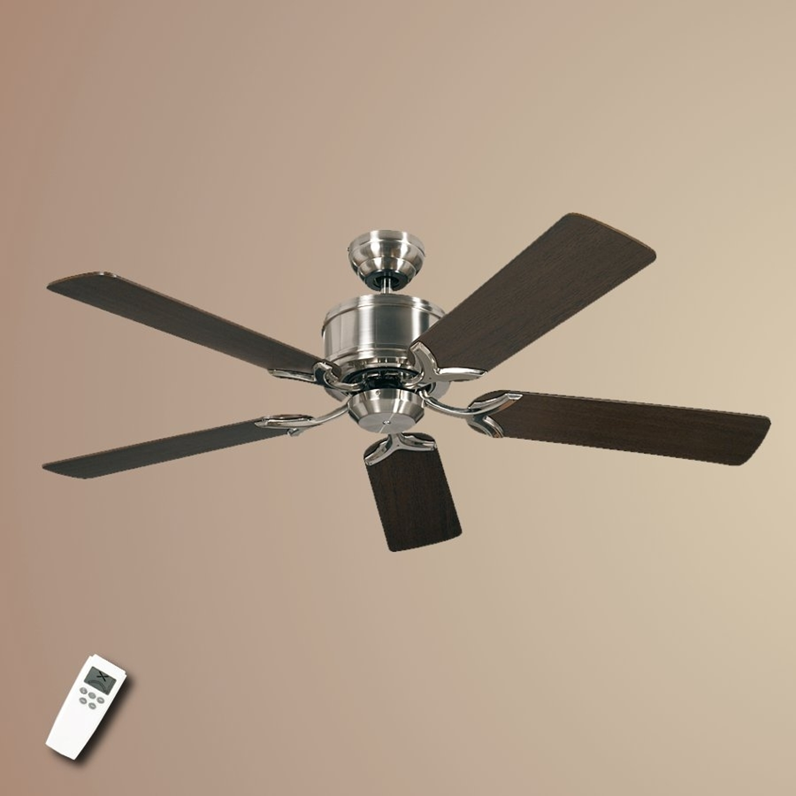 Ceiling fan Eco Elements with wenge and maple_2015017_1