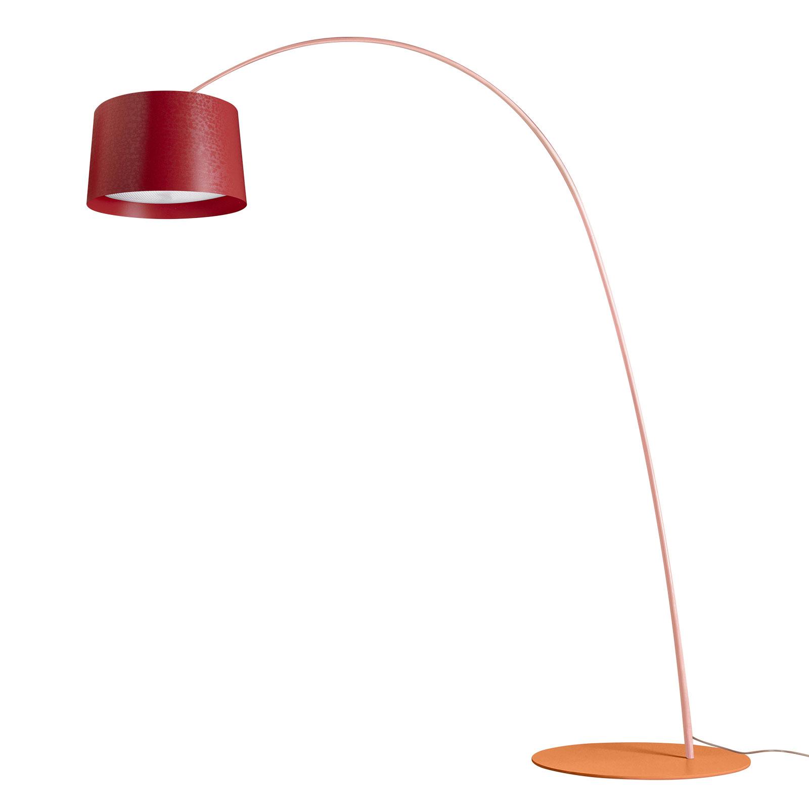 Foscarini Twiggy Be Colour, rød/rosa/oransje