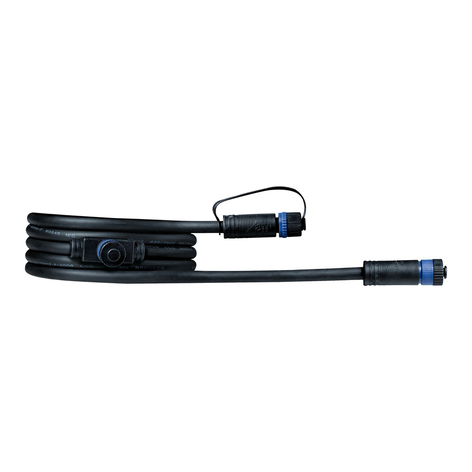 Paulmann Plug & Shine 93926 Kabel 2m, 1 in/2 aus
