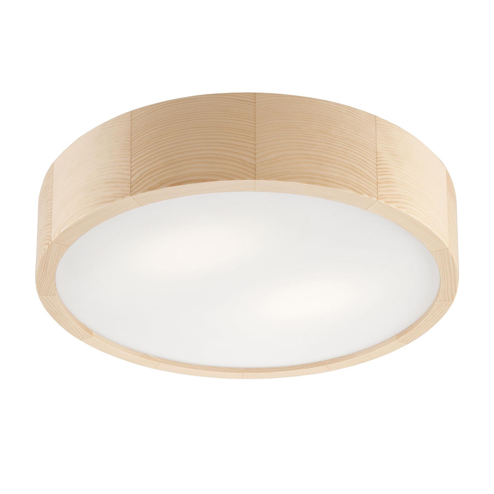 Deckenlampe Kerio, Ø 37 cm, kiefer natur
