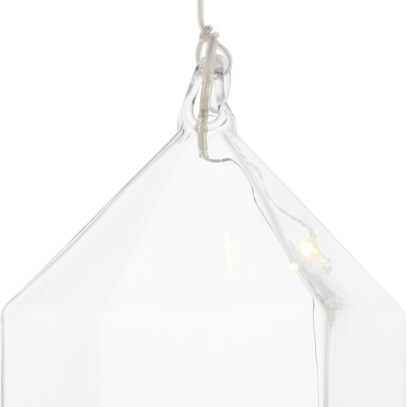 Suspension déco LED Rebecca House, hauteur 11cm