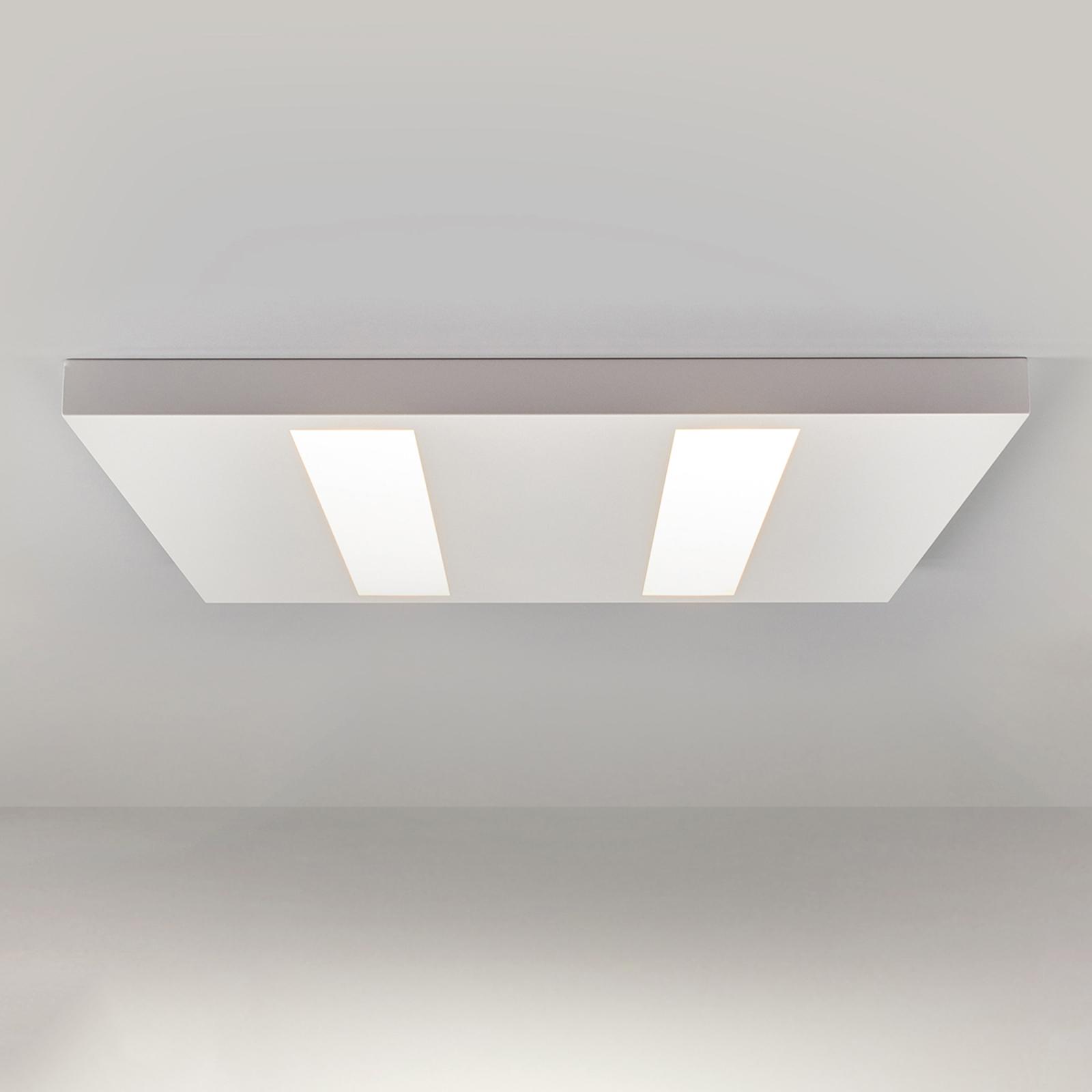 Flad LED-påbygningsarmatur 37W hvid, OSRAM-LED'er