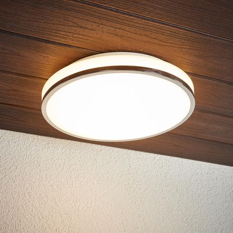 Lyss LED koupelnové světlo stropní okraj chrom
