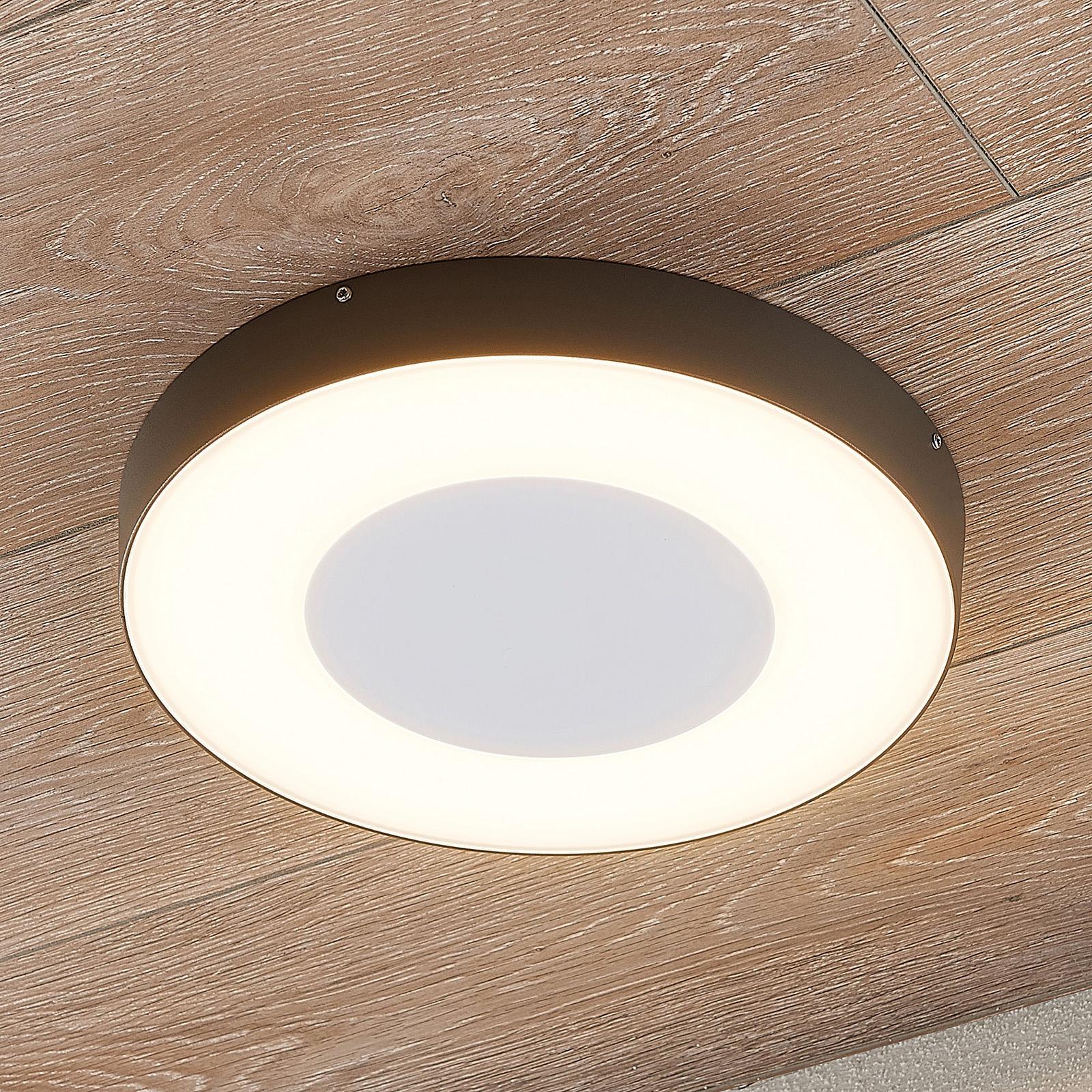 Lampa sufitowa LED Sora, okrągła