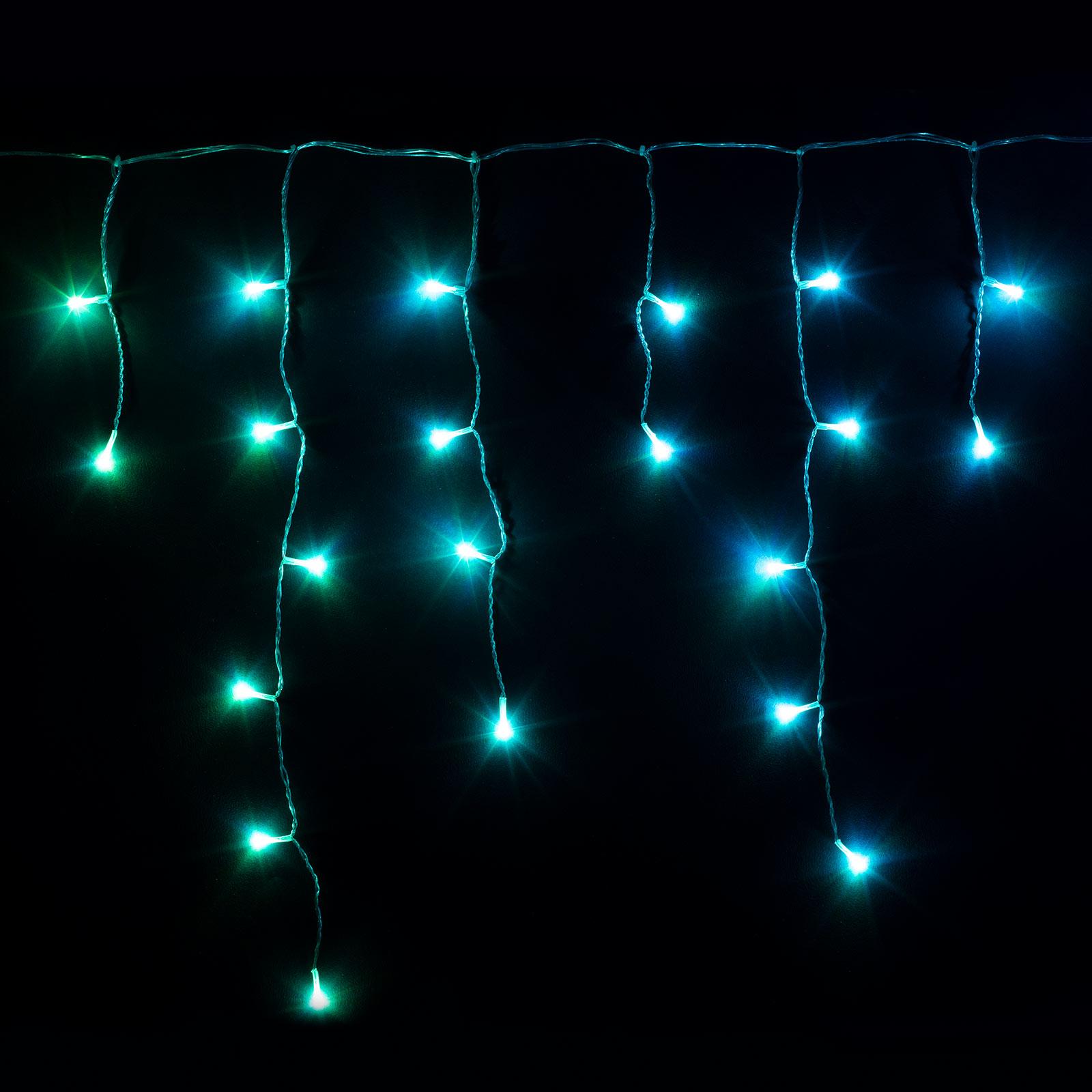 Smarter LED-Lichtervorhang Twinkly für App, RGBW