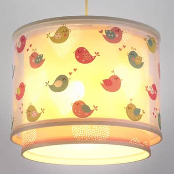 Delicata lampada a sospensione Birds