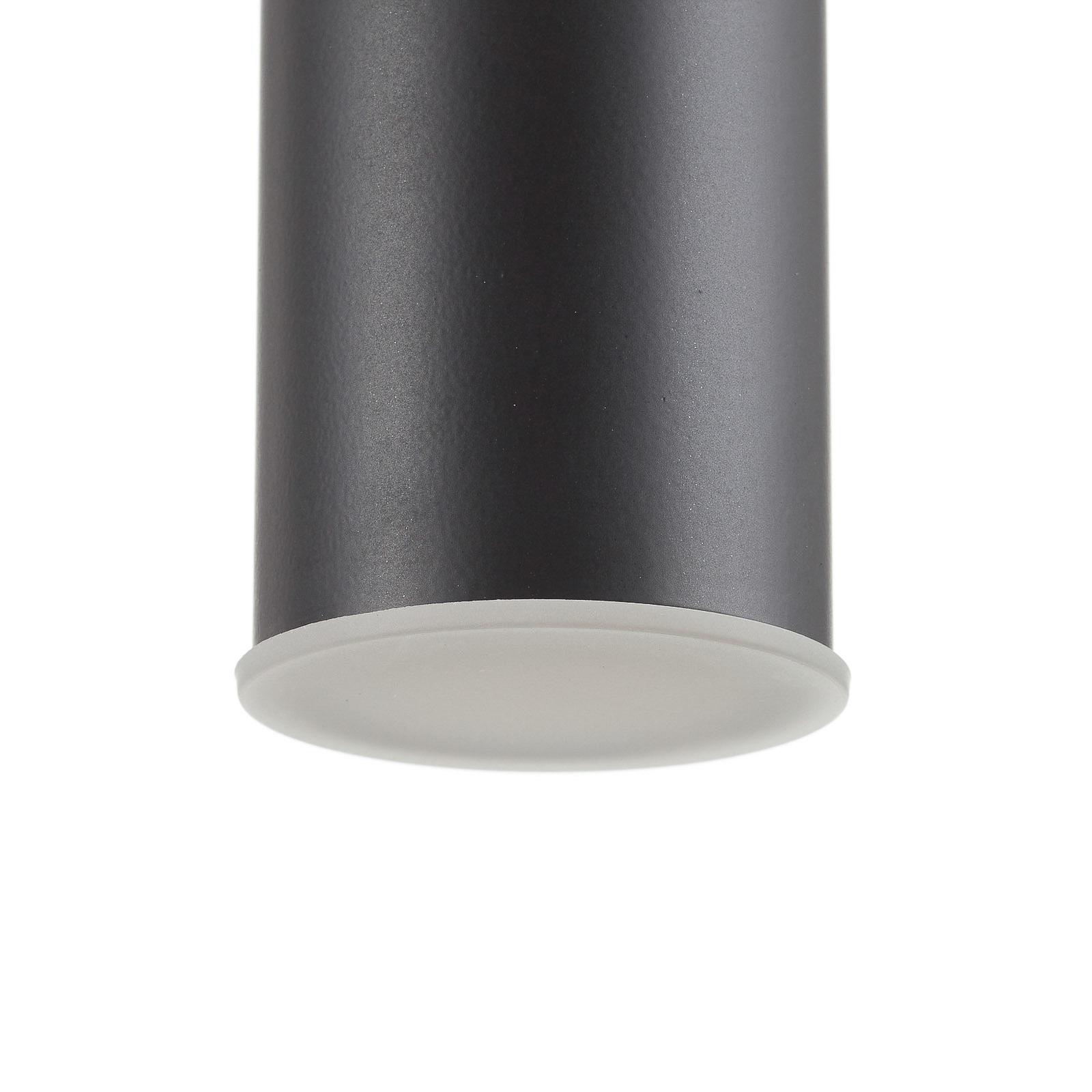 Schöner Wohnen Stina lampa wisząca 1-pkt. czarna