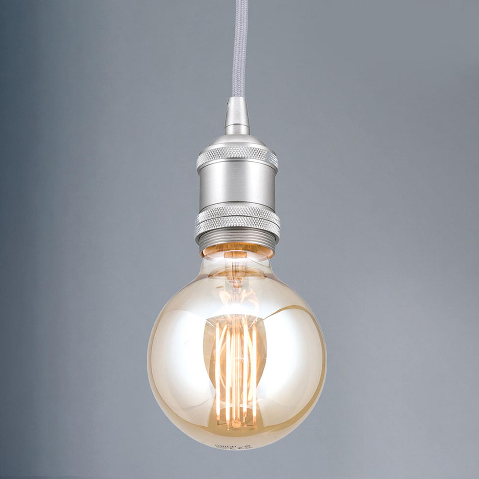 Lampa wisząca oprawa Jailhouse nikiel matowy