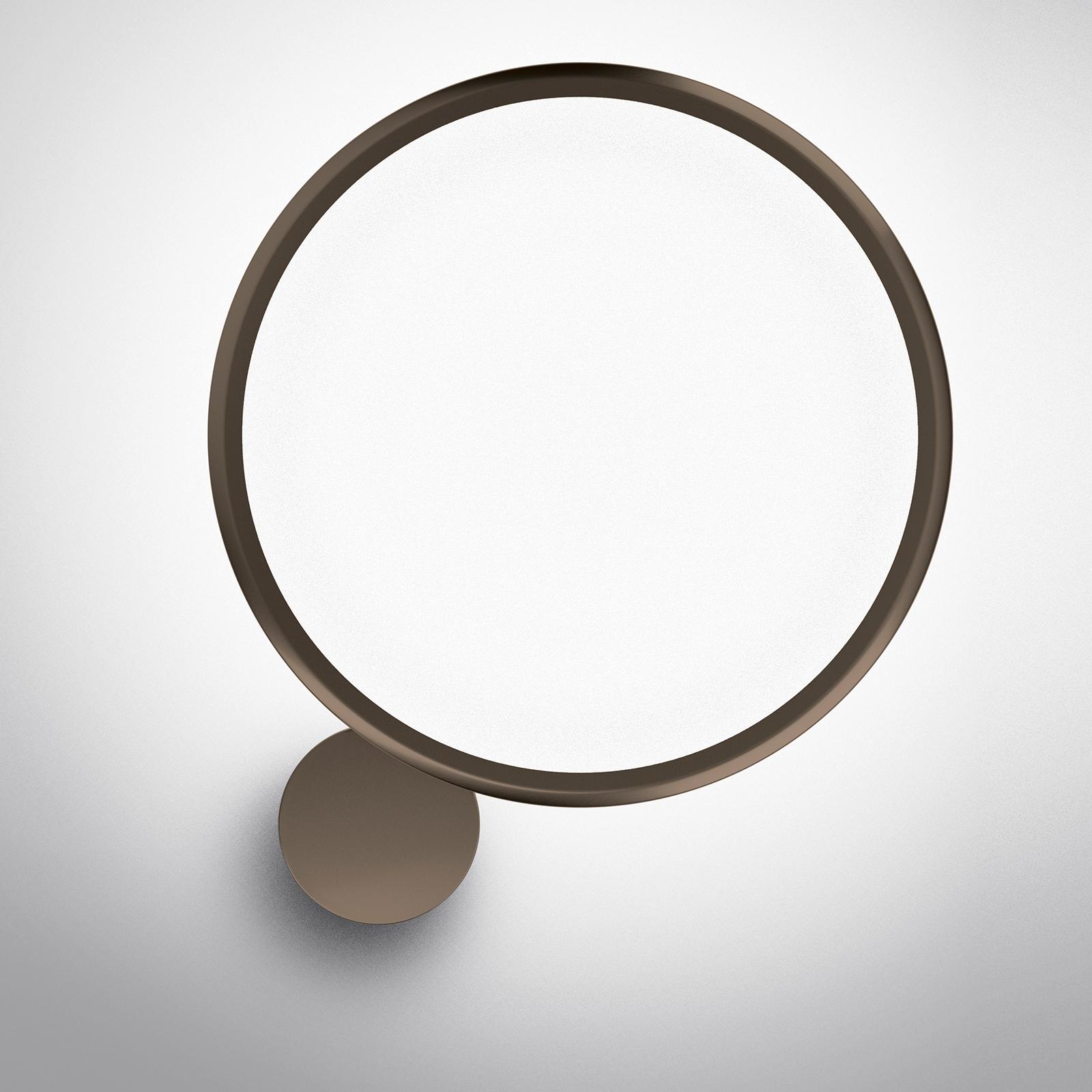 Artemide Discovery LED-vegglampe bronse