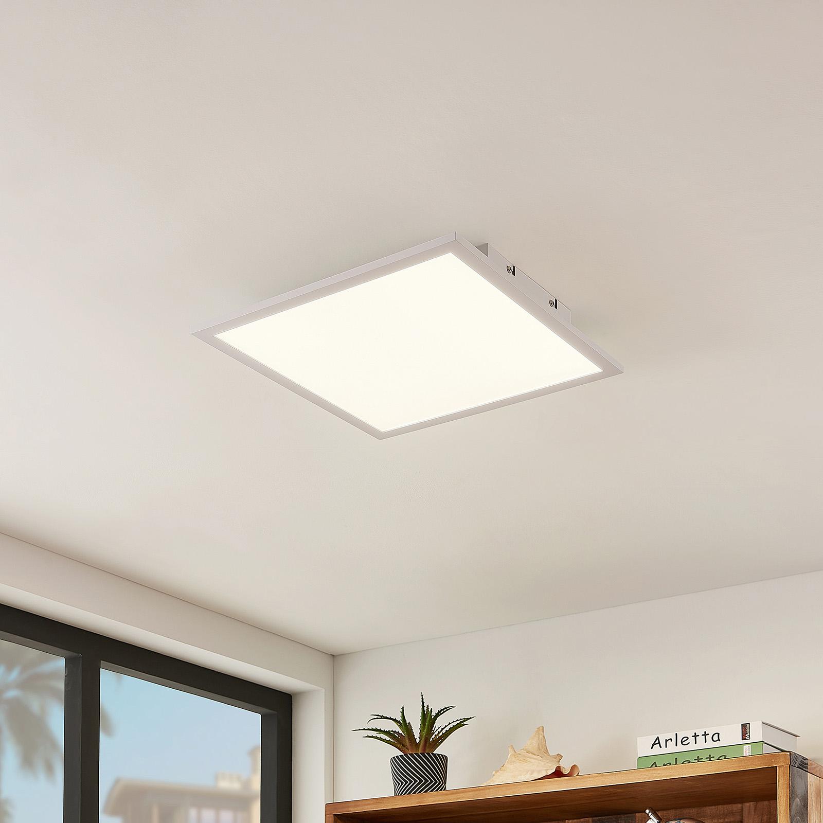 Lindby Quais LED panel 4000K, 40x40cm_9956062_1