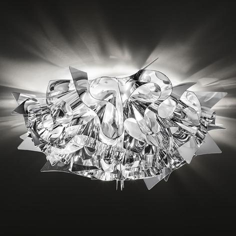 Slamp Veli Medium stropní světlo Ø 53cm stříbrné