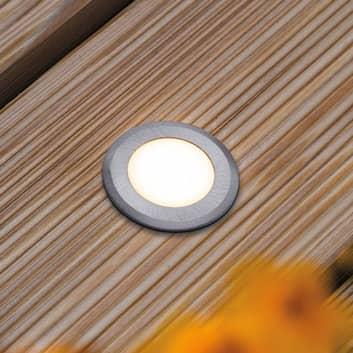 Paulmann House podlahové světlo IP65 kulaté ploché