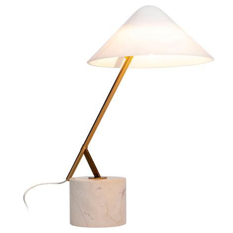KARE Palazzina bordslampa med marmorfot, svart | Lamp24.se