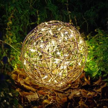 Bola de diseño LED 3D Galax Fun, Ø 30 cm