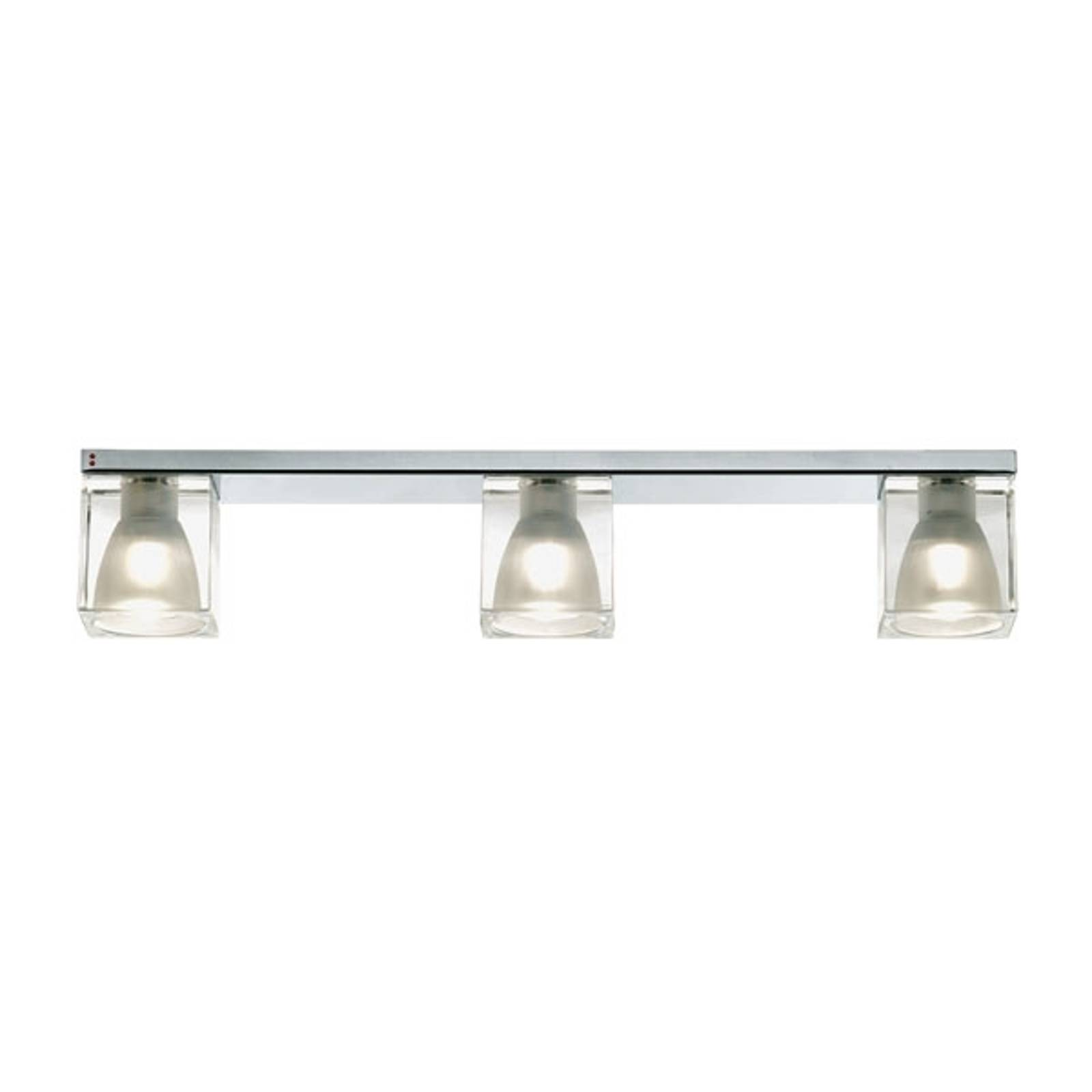 Exclusieve 3-lichts Plafondlamp CUBETTO