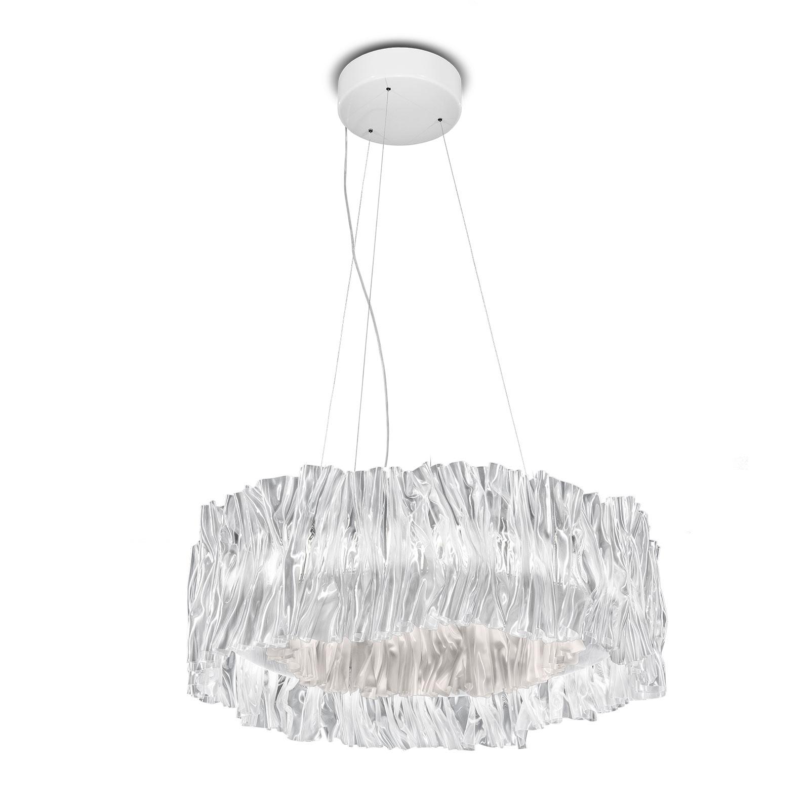 Slamp Accordéon LED-hengelampe hvit 2700K