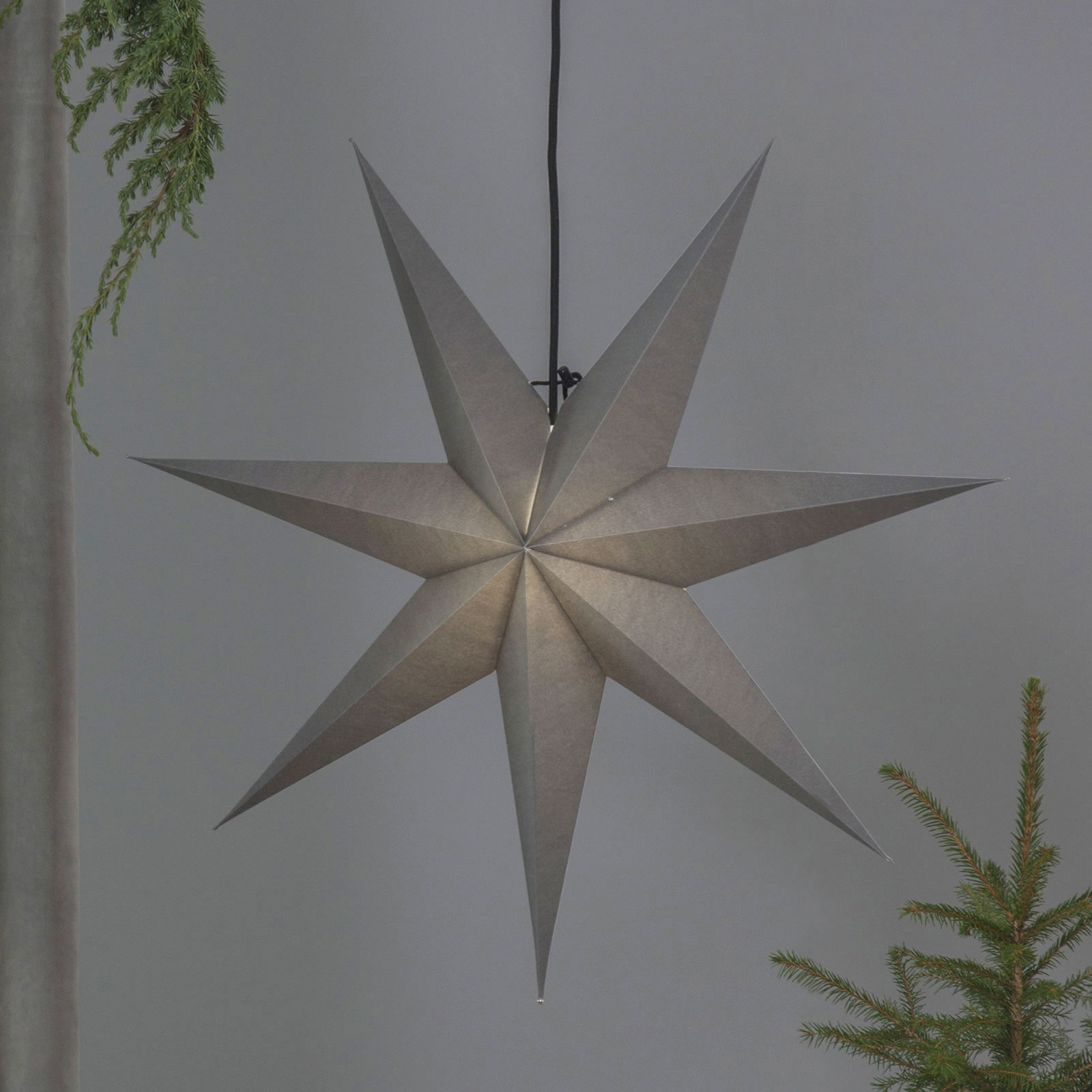 Papirstjerne Ozen med syv spisser (70 cm)