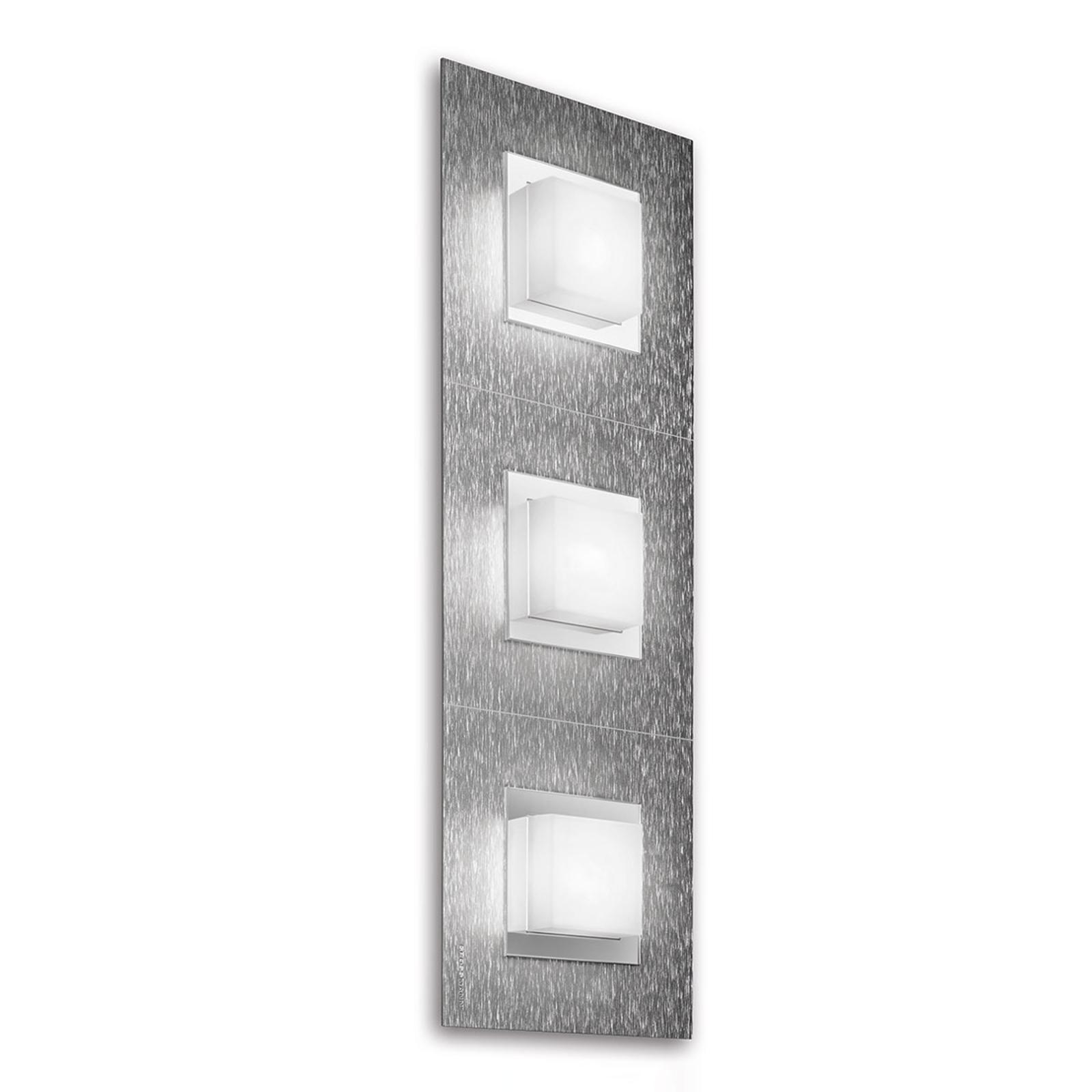 GROSSMANN Basic LED-Wandleuchte 3flg., aluminium
