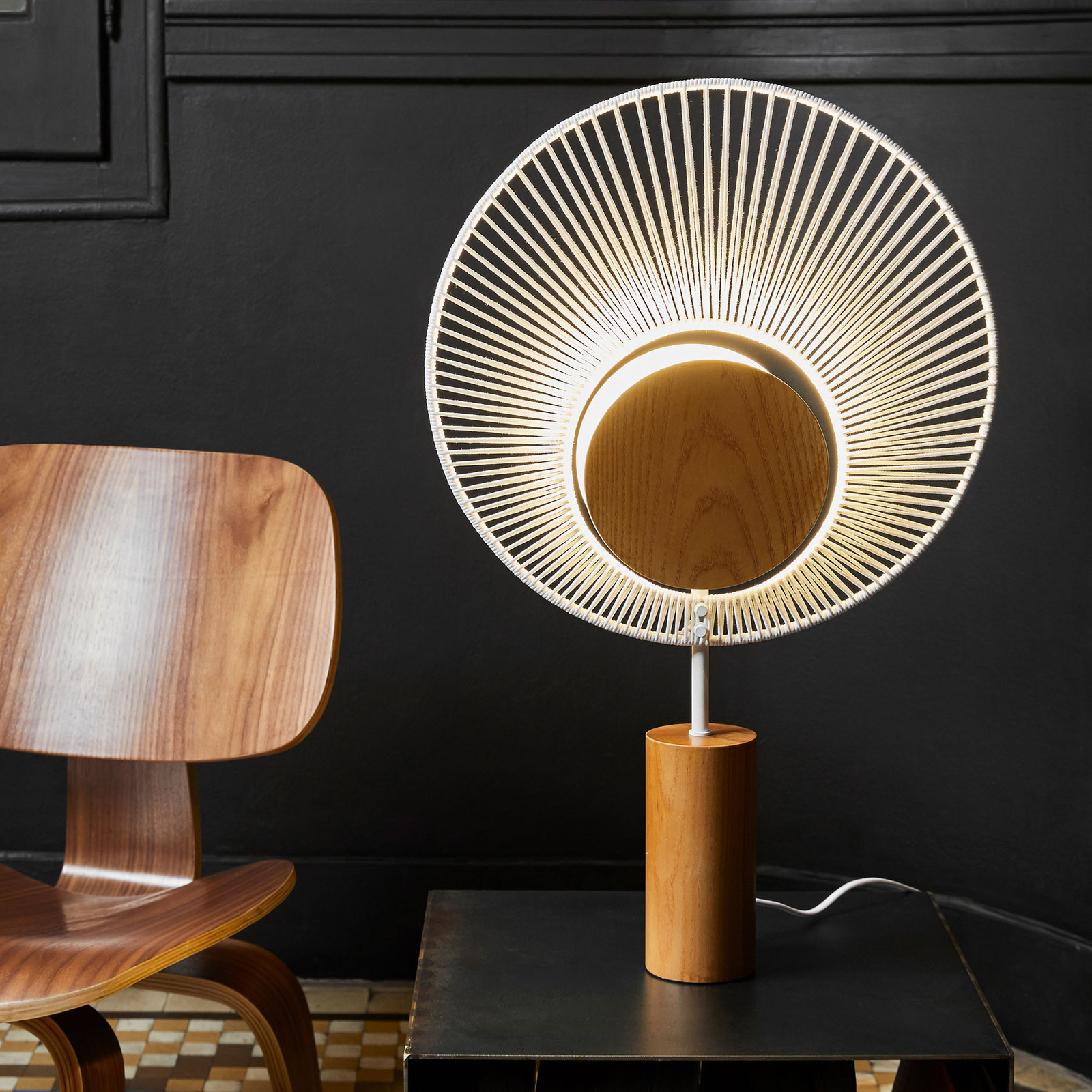 Forestier Oyster designer table lamp_3567057_1