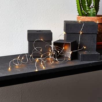 Dew Drop -LED-valoketju viidellä langalla
