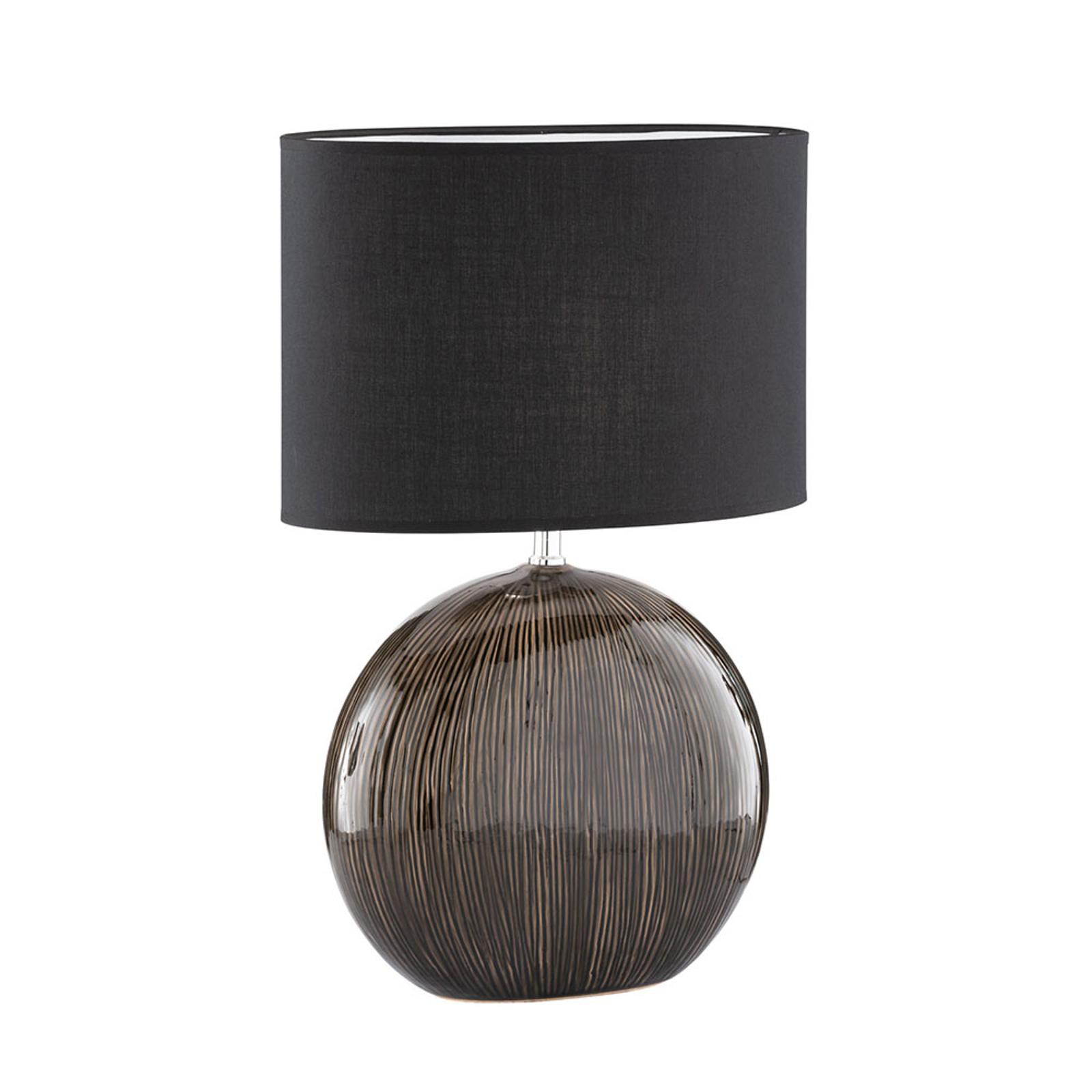 Bordlampe Marin med keramisk fot, høyde 53 cm