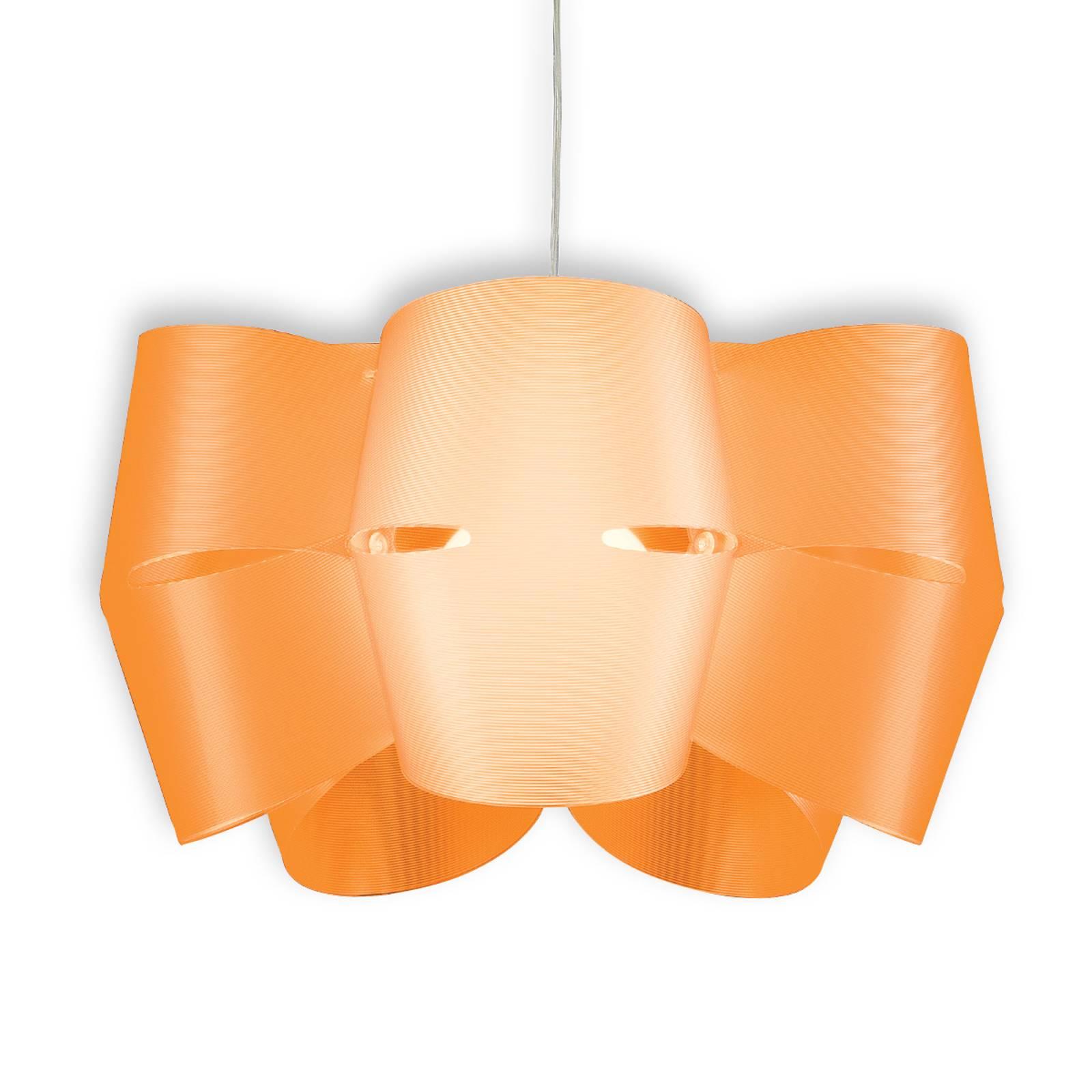 Hängeleuchte Mini Alien orangefarben